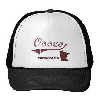 Obra clásica de la ciudad de Osseo Minnesota Gorros Bordados