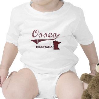 Obra clásica de la ciudad de Osseo Minnesota Trajes De Bebé
