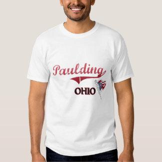 Obra clásica de la ciudad de Paulding Ohio Playeras