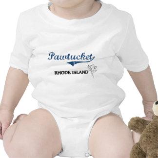 Obra clásica de la ciudad de Pawtucket Rhode Trajes De Bebé