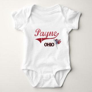 Obra clásica de la ciudad de Payne Ohio Playeras