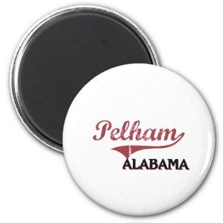 Obra clásica de la ciudad de Pelham Alabama Imán De Nevera