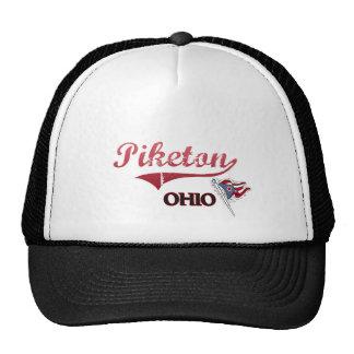 Obra clásica de la ciudad de Piketon Ohio Gorro