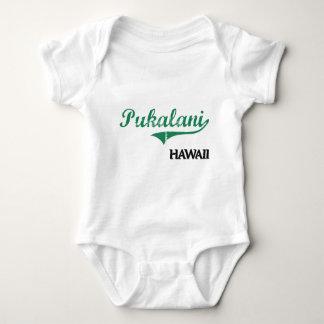 Obra clásica de la ciudad de Pukalani Hawaii Playeras