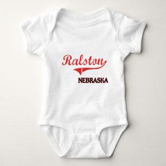 Obra clásica de la ciudad de Ralston Nebraska Camisas