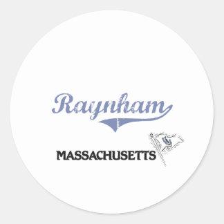 Obra clásica de la ciudad de Raynham Massachusetts Etiquetas