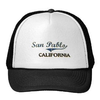 Obra clásica de la ciudad de San Pablo California Gorra