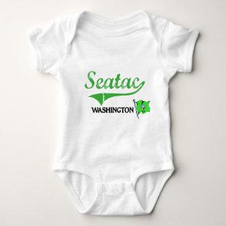 Obra clásica de la ciudad de Seatac Washington Tshirts