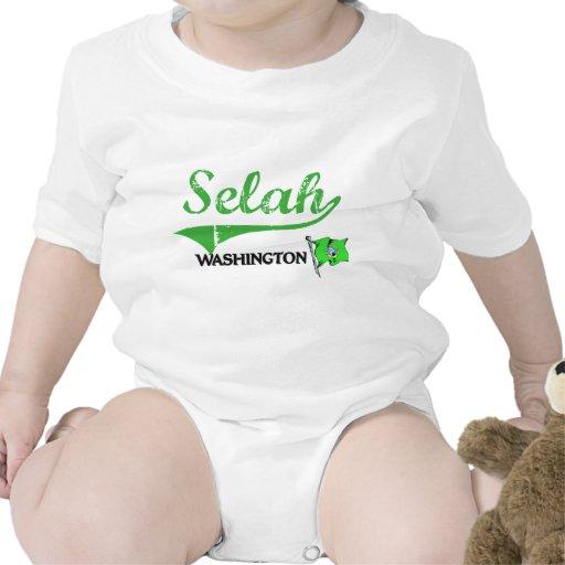 Obra clásica de la ciudad de Selah Washington Trajes De Bebé