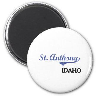 Obra clásica de la ciudad de St Anthony Idaho Iman