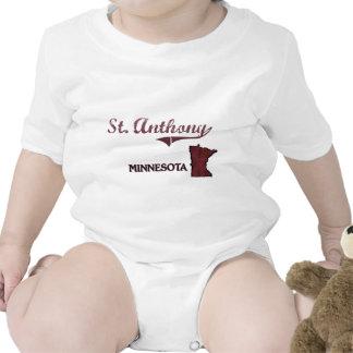 Obra clásica de la ciudad de St Anthony Minnesota Camiseta