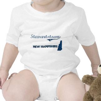 Obra clásica de la ciudad de Stewartstown New Traje De Bebé