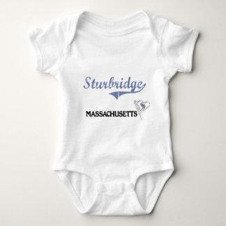 Obra clásica de la ciudad de Sturbridge Mameluco De Bebé