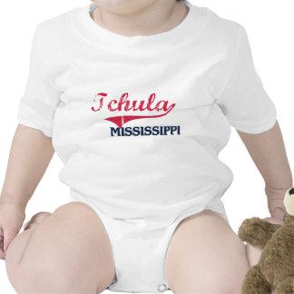 Obra clásica de la ciudad de Tchula Mississippi Traje De Bebé