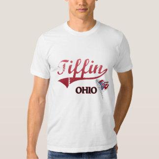 Obra clásica de la ciudad de Tiffin Ohio Poleras