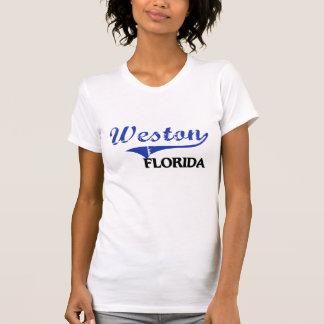 Obra clásica de la ciudad de Weston la Florida Camisetas