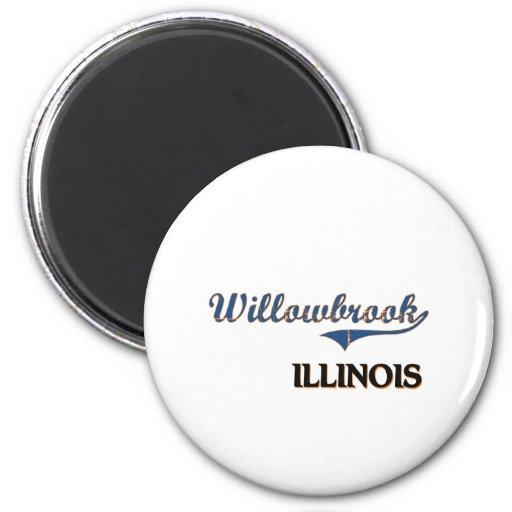Obra clásica de la ciudad de Willowbrook Illinois Iman
