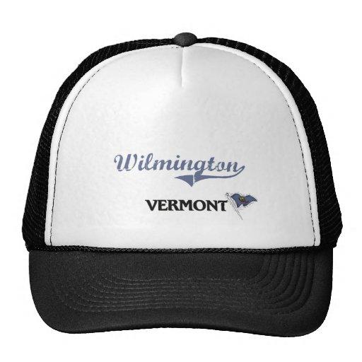 Obra clásica de la ciudad de Wilmington Vermont Gorra