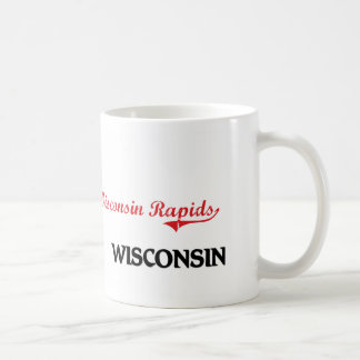 Obra clásica de la ciudad de Wisconsin de los Taza Básica Blanca