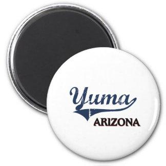Obra clásica de la ciudad de Yuma Arizona Iman Para Frigorífico