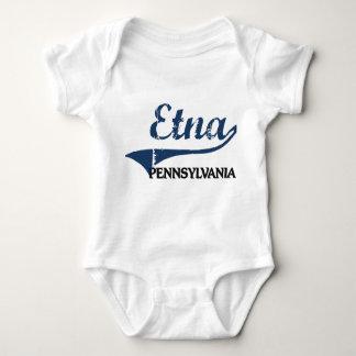 Obra clásica de la ciudad del Etna Pennsylvania Tee Shirt