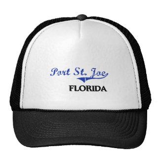 Obra clásica de la ciudad del St. Joe la Florida d Gorras De Camionero