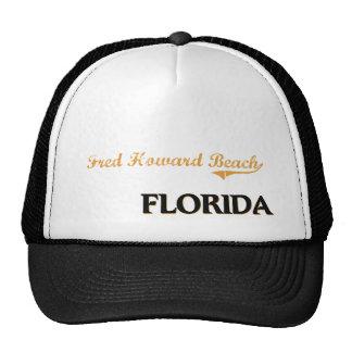 Obra clásica de la Florida de la playa de Fred How Gorros