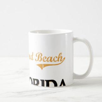 Obra clásica de la Florida de la playa de Fred How Taza