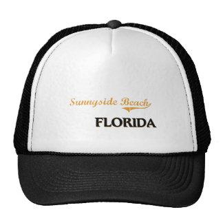 Obra clásica de la Florida de la playa de Sunnysid Gorros Bordados