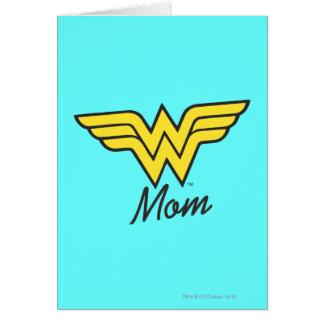 Obra clásica de la mamá de la maravilla tarjeta de felicitación
