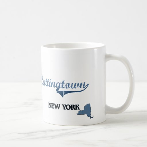 Obra clásica de Lattingtown New York City Tazas