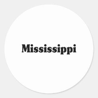 Obra clásica de Mississippi Pegatinas