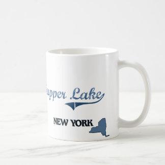 Obra clásica de New York City del lago Tupper Taza