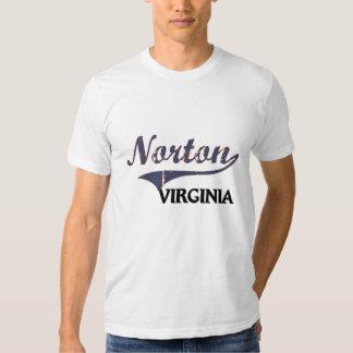 Obra clásica de Norton Virginia City Remera