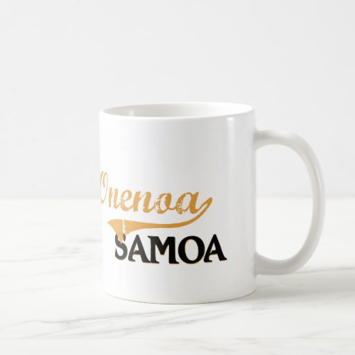 Obra clásica de Onenoa Samoa Taza