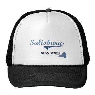 Obra clásica de Salisbury New York City Gorras De Camionero