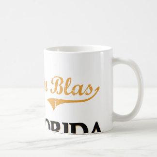 Obra clásica de San Blas la Florida del cabo Tazas De Café
