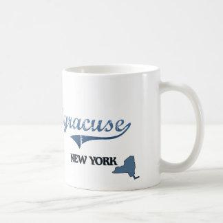 Obra clásica de Syracuse New York City Taza Clásica