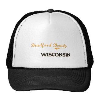 Obra clásica de Wisconsin de la playa de Bradford Gorro