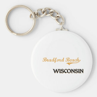 Obra clásica de Wisconsin de la playa de Bradford Llavero