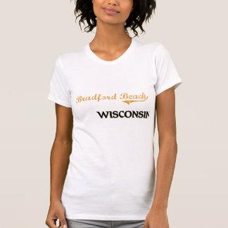 Obra clásica de Wisconsin de la playa de Bradford Camisetas