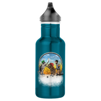 Obra clásica del Critter del hockey Botella De Agua De Acero Inoxidable