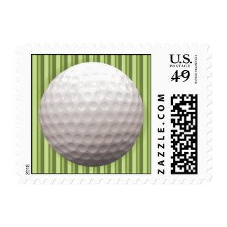 Obra clásica del golf estampilla