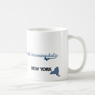 Obra clásica del sur de Farmingdale New York City Taza Básica Blanca