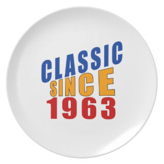 Obra clásica desde 1963 plato