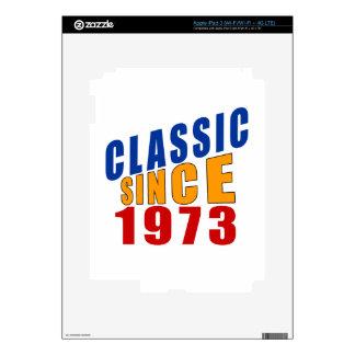 Obra clásica desde 1973 iPad 3 skins