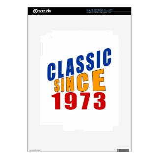 Obra clásica desde 1973 skin para el iPad 2