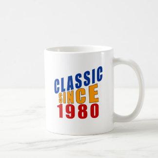 Obra clásica desde 1980 taza clásica