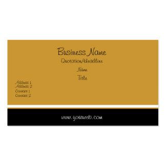 Obra clásica elegante de moda tarjetas de visita