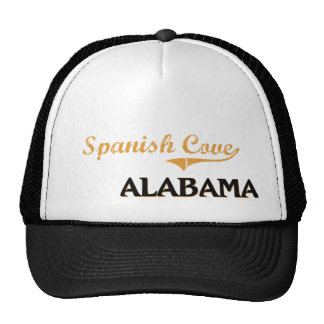 Obra clásica española de Alabama de la ensenada Gorra